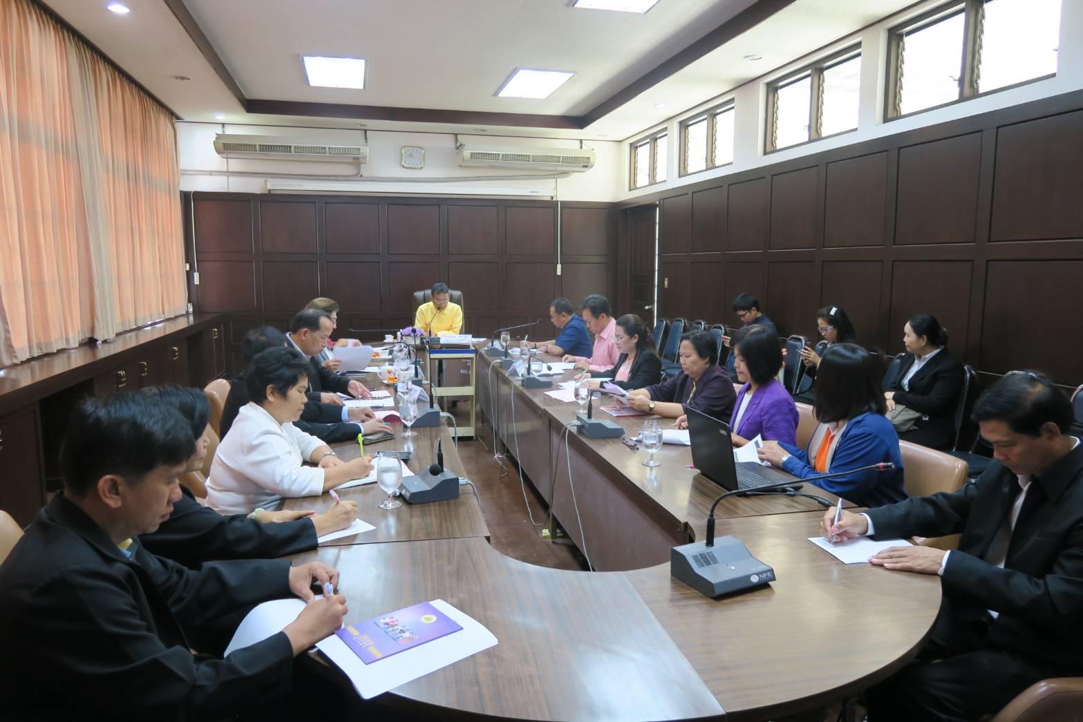 กรง.อบ. ร่วมประชุมหัวหน้าส่วนราชการสังกัดกระทรวงแรงงาน ประจำเดือน มกราคม 2563